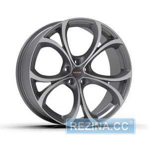 Купить Легковой диск MAK Lario Gun Mett Mirror Face R20 W10 PCD5x110 ET34 DIA65.1