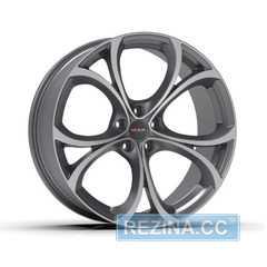 Купить Легковой диск MAK Lario Gun Mett Mirror Face R19 W8.5 PCD5x110 ET30 DIA65.1