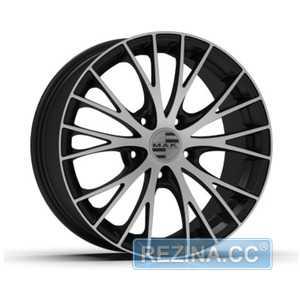 Купить MAK RENNEN Ice Black R19 W8.5 PCD5x112 ET21 DIA66.45