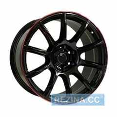 Off Road Wheels OW1012 GLOSSY BLACK RED LINE RIVA RED - rezina.cc
