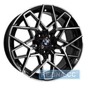 Купить REPLICA B5607 BKF R19 W8 PCD5x120 ET30 DIA72.6