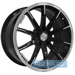 Купить REPLICA FORGED MR1115C GLOSS BLACK WITH MACHINED FACE FORGED R21 W10 PCD5x130 ET33 DIA84.1