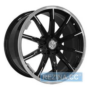 Купить REPLICA FORGED MR1115C GLOSS BLACK WITH MACHINED F​ACE FORGED R21 W10 PCD5x130 ET33 DIA84.1