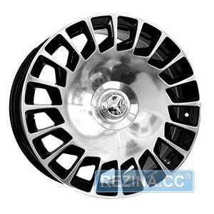 Купить REPLICA MR990 BKF R20 W9.5 PCD5x112 ET45 DIA66.6