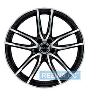 Купить MAK EVO BLACK MIRROR R21 W8.5 PCD5x112 ET27 DIA66.6
