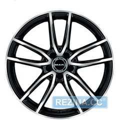 Купить MAK EVO BLACK MIRROR R20 W9.5 PCD5x112 ET45 DIA66.6