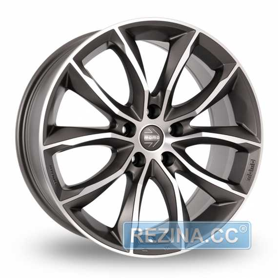 Купить Легковой диск MOMO Screamjet Evo Matt Anthracite Polished R18 W8 PCD5x120 ET30 DIA72.6