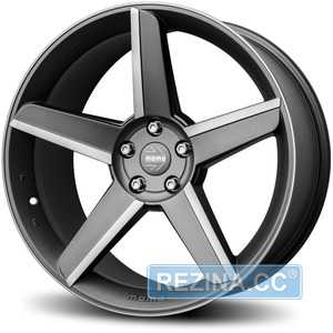 Купить Легковой диск MOMO Stealth Matt Anthracite Polished R19 W9.5 PCD5x120 ET42 DIA72.6