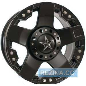 Купить Легковой диск GT 6573 Matt Black R16 W8 PCD6x139.7 ET0 DIA110
