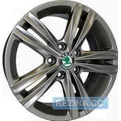 Купить Легковой диск REPLICA Skoda CT1109 HS R16 W7 PCD5x112 ET45 DIA57.1