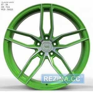 Купить Легковой диск WS FORGED WS1250 MATTE_GREEN_WITH_MACHINED_FACE_FORGED R20 W9.5 PCD5X115 ET18 DIA71.6
