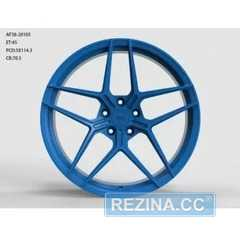 Купить Легковой диск WS FORGED WS2123 MATTE_BLUE_FORGED R20 W9.5 PCD5X114.3 ET35 DIA70.5