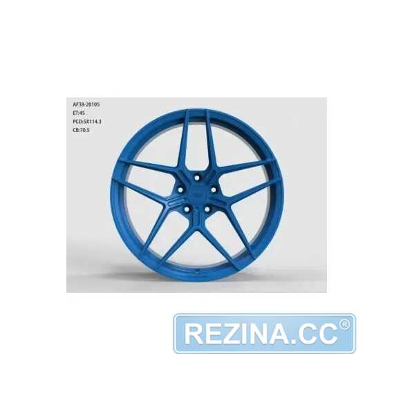 Купить Легковой диск WS FORGED WS2123 MATTE_BLUE_FORGED R20 W9.5 PCD5X114.3 ET35 DIA70.5