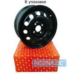 Купить Легковой диск ДОРОЖНАЯ КАРТА Daewoo Lanos Black R14 W5.5 PCD4x100 ET49 DIA56.56