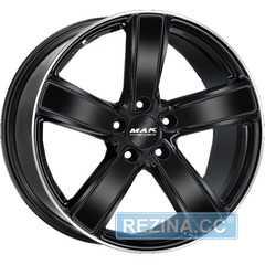 Купить Легковой диск MAK Tursimo-D-FF Gloss Black Mirror Ring R20 W11.5 PCD5x130 ET68 DIA71.6
