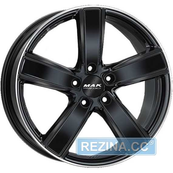 Купить Легковой диск MAK Turismo-FF Gloss Black Mirror Ring R20 W9 PCD5x130 ET50 DIA71.6