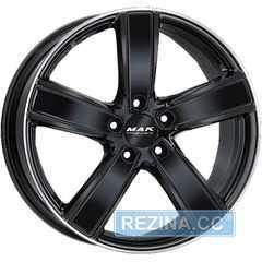 Купить Легковой диск MAK Turismo-FF Gloss Black Mirror Ring R20 W9.5 PCD5x130 ET65 DIA71.6