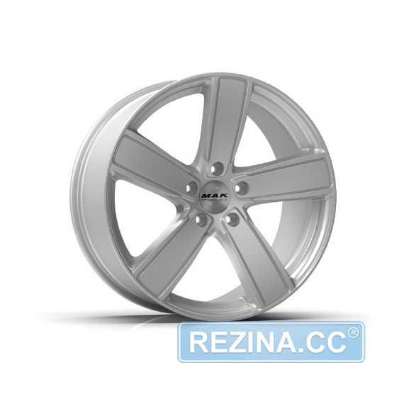 Купить Легковой диск MAK Turismo-FF Silver R20 W9 PCD5x112 ET26 DIA66.45