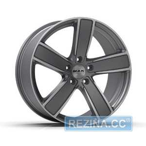 Купить Легковой диск MAK Turismo-FF Gun Metallic Mirror Face R21 W9.5 PCD5x130 ET71 DIA71.6