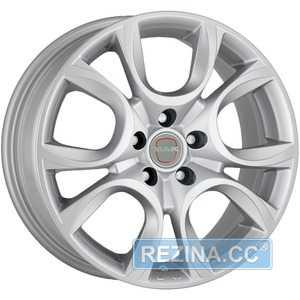 Купить Легковой диск MAK Torino W Silver R17 W7.5 PCD5x110 ET41 DIA65.1