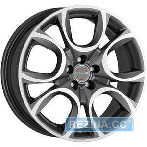 Купить Легковой диск MAK Torino W Gun Met Mirorr Face R16 W6.5 PCD4x100 ET40 DIA56.6