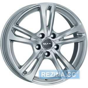 Купить Легковой диск MAK Emblema Silver R15 W6 PCD5x98 ET37.5 DIA58.1