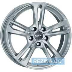 Купить Легковой диск MAK Emblema Silver R16 W6.5 PCD5x105 ET39 DIA56.6