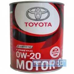 Купить Моторное масло TOYOTA Synthetic Motor Oil 0W-20 SP/GF6A (1л)