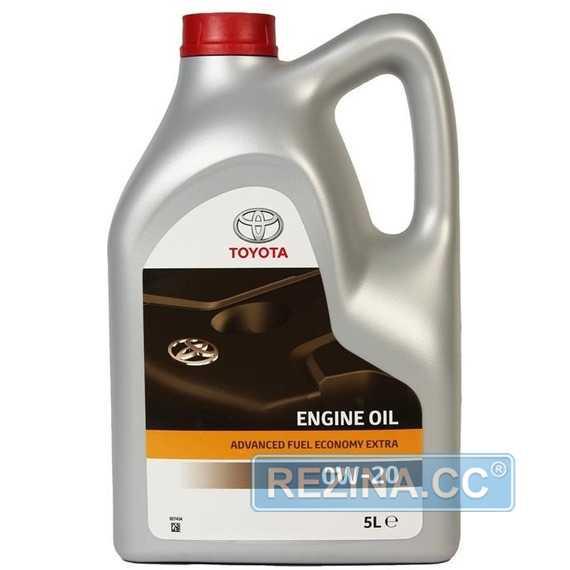Купить Моторное масло TOYOTA Engine Oil AFE 0W-20 (5л)