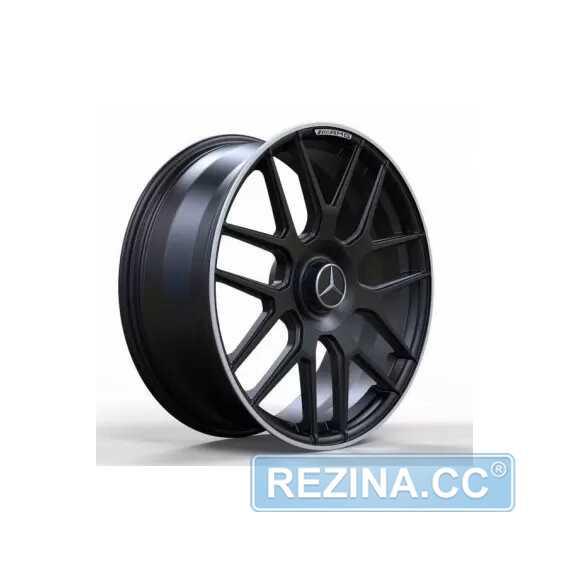 Купить Легковой диск REPLICA FORGED MR095 SATIN_BLACK_LIP_POLISH_FORGED R20 W8.5 PCD5X112 ET40 DIA66.5