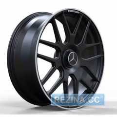 Купить Легковой диск REPLICA FORGED MR095 SATIN_BLACK_LIP_POLISH_FORGED R20 W9.5 PCD5X112 ET39 DIA66.6