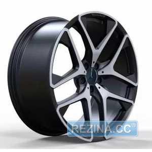 Купить Легковой диск REPLICA FORGED MR942 MATT_BLACK_WITH_MACHINED_FACE_FORGED R21 W10 PCD5X112 ET54 DIA66.6