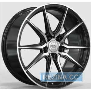 Купить Легковой диск WS FORGED WS2104 GLOSS BLACK WITH MACHINED FACE FORGED R18 W8 PCD5X112 ET45 DIA57.1