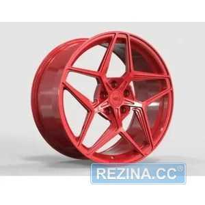 Купить Легковой диск WS FORGED WS2125 GLOSS_RED_FORGED R19 W9.5 PCD5X114.3 ET52.5 DIA70.5