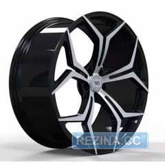Купить Легковой диск WS FORGED WS428B GLOSS BLACK WITH MACHINED FACE FORGED R22 W10.5 PCD5X112 ET43 DIA66.5