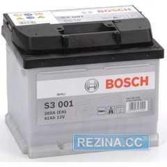 Купити Аккумулятор BOSCH (S3001) 41Ah-12v (207x175x175) R,EN 360