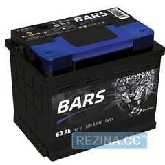 Купить Аккумулятор BARS 6СТ-60 R Plus (пт 530)