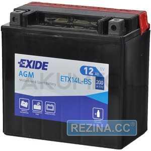 Купить Аккумулятор EXIDE AGM (ETX14-BS) 12Ah-12v (150х87х145) L, EN200