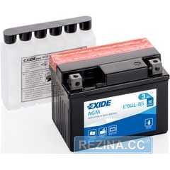 Купити Акумулятор EXIDE AGM (ETX4L-BS) 3Ah-12v (113х70х85) R, EN50