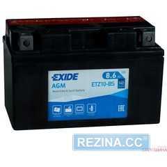 Купити Акумулятор EXIDE AGM (ETZ10-BS) 8,6Ah-12v (150х87х93) L, EN145