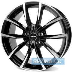 Купить Легковой диск AUTEC Astana Schwarz poliert R17 W7 PCD5x112 ET40 DIA57.1