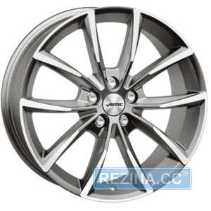 Купить Легковой диск AUTEC Astana Titansilber Poliert R17 W7 PCD5x108 ET42 DIA65.1
