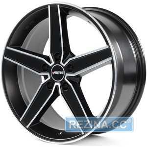 Купить AUTEC Delano Schwarz matt poliert R18 W8 PCD5x114.3 ET42 DIA70.1