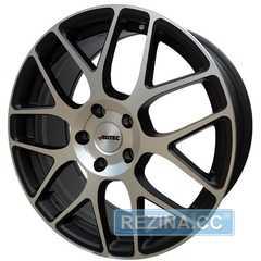 Купить Легковой диск AUTEC Hexano Schwarz matt poliert R18 W8 PCD5x112 ET48 DIA70.1