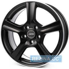 Купити Легковий диск AUTEC Ionik Schwarz matt poliert R17 W7 PCD5x108 ET50 DIA63.3
