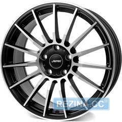 Купить Легковой диск AUTEC Lamera Schwarz matt poliert R19 W8 PCD5x112 ET30 DIA70.1