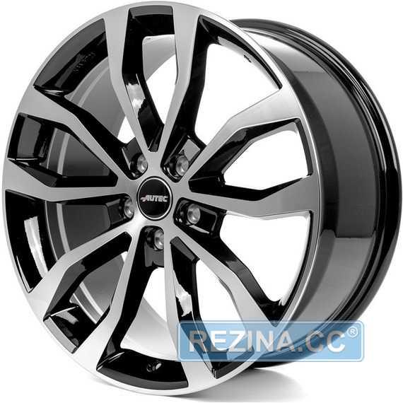 Купить Легковой диск AUTEC Uteca Schwarz poliert R17 W7.5 PCD5x114.3 ET49 DIA70.1