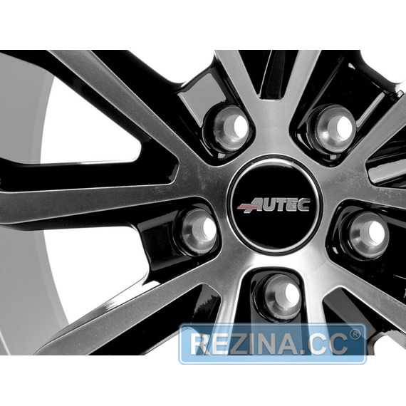 Купить Легковой диск AUTEC Uteca Schwarz poliert R18 W8 PCD5x112 ET28 DIA66.6
