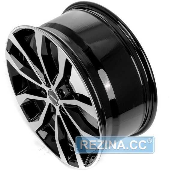 Купить Легковой диск AUTEC Uteca Schwarz poliert R18 W8 PCD5x130 ET48 DIA71.6