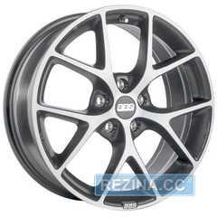 Купить Легковой диск BBS SR Volcano Grey Diamond Cut R19 W8.5 PCD5x114.3 ET35 DIA82
